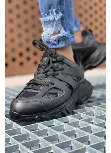 Chekich CH301 ST Erkek Ayakkabı SıYAH/SıYAH Siyah